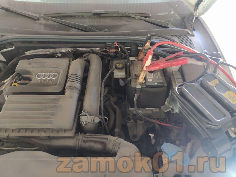 Запуск двигателя после вскрытия автомобиля